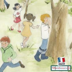 Cache-cache : Images séquentielles, récits Montessori