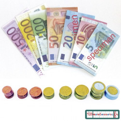 Monnaie : Pièces et billets en euro