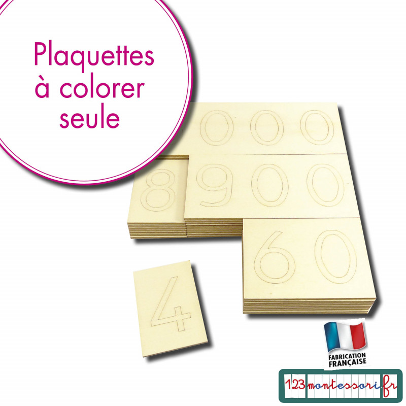 Grands Symboles Montessori en kit