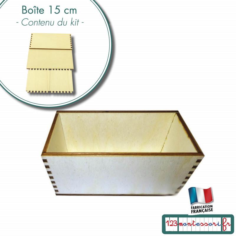 Boite Montessori de 15 cm de large