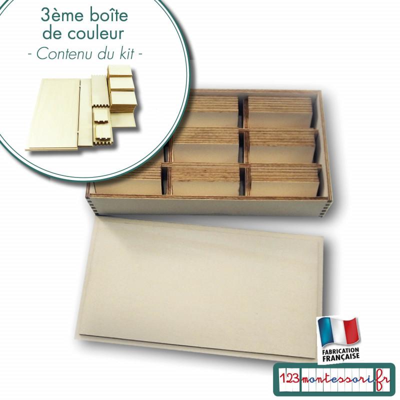 3è boite de couleurs Montessori