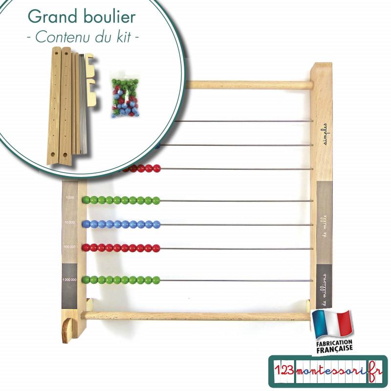 Grand Boulier Montessori en kit