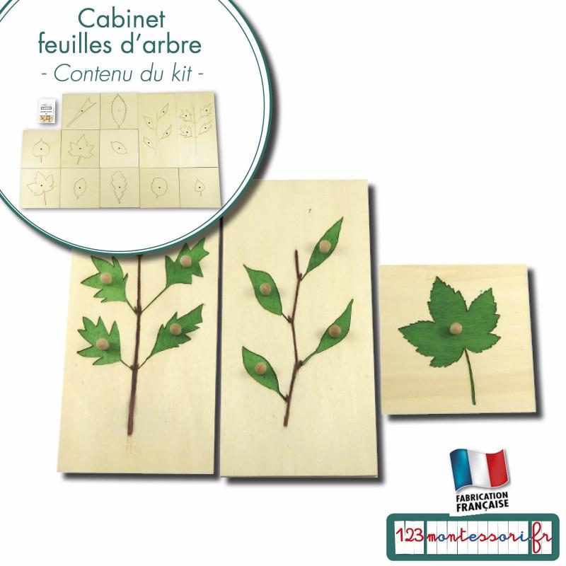 Puzzles du cabinet des feuilles d'arbre