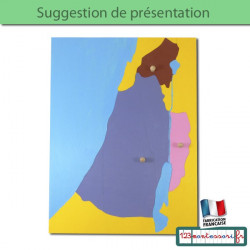 Puzzle de la Palestine