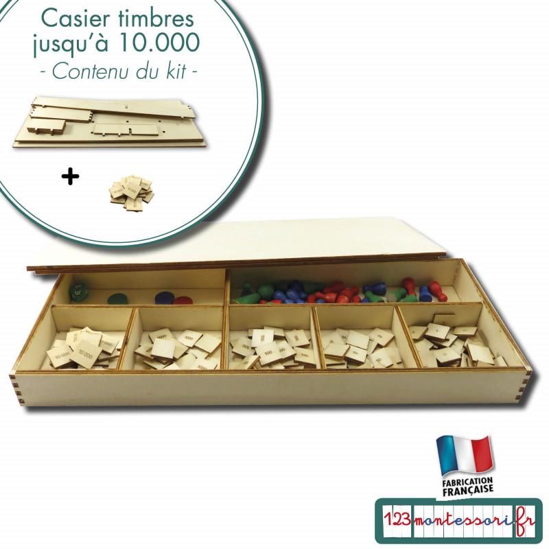 Boîte de timbres jusqu'à 10 000