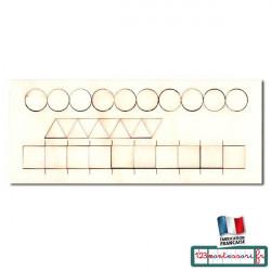 Pièces détachées pour les formes superposées
