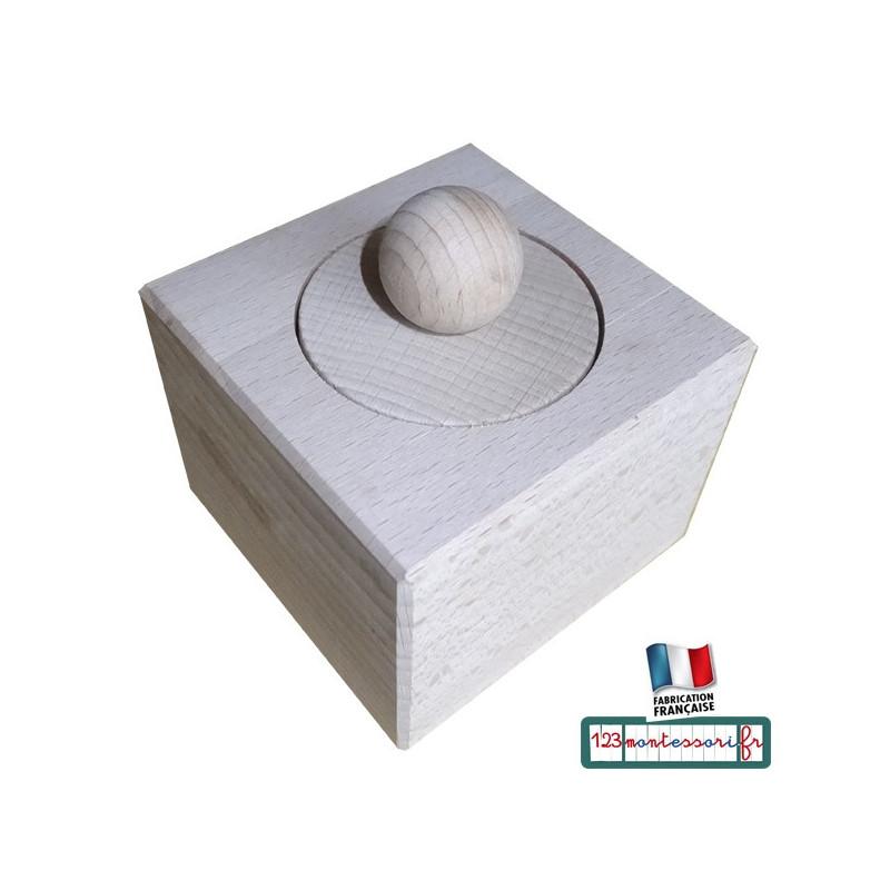 Emboîtement Cylindrique Montessori en hêtre Nido