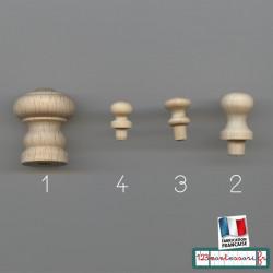 Poignées de préhension pour puzzle Montessori (bouton)