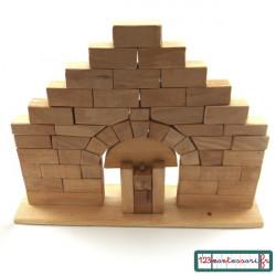 Fiche de fabrication de l'arche romane