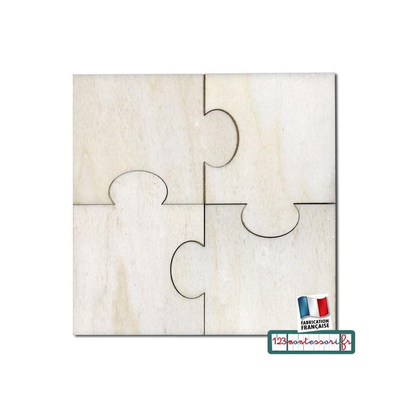 Puzzle En 4 Pieces Identiques