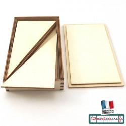 Triangles constructeurs bleus Montessori en kit