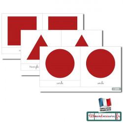 Vocabulaire du cabinet de géométrie cursive rouge (pdf)