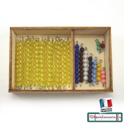 Perles et boites tables de Seguin Montessori