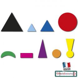 Symboles de grammaire autocollants (gommettes à humidifier)