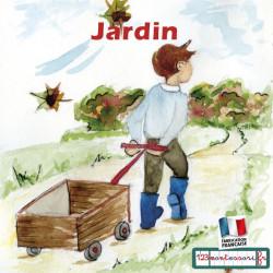 Images séquentielles, récits montessori (le jardin)
