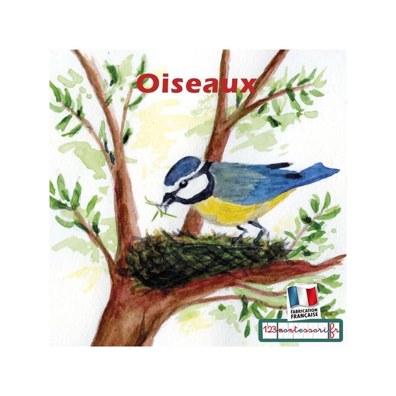 Images séquentielles, récits montessori (l'oiseau)