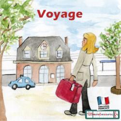 Images séquentielles, récits montessori (le voyage)
