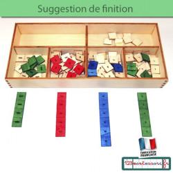 Le jeu des timbres Montessori