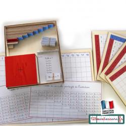 Mémorisation de l'addition avec Montessori