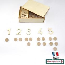 Le jeu des jetons pour pair et impair en Montessori